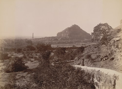 Dowlatabad Fort from Ellora Road.